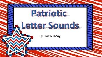 Patriotic Letter Sound Match