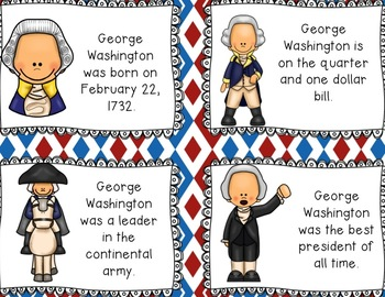 Patriotic/President's Day Literacy Centers {CC Aligned for 2nd and 3rd Grade}
