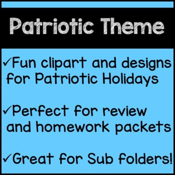 Patriotic Math 5th Grade Memorial Day July 4th Worksheets Common Core
