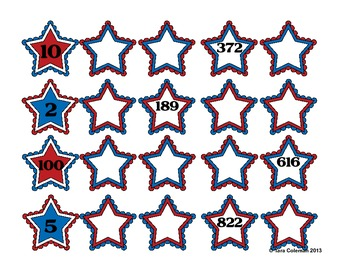 Patriotic Math Centers (Fun With the Red, White, and Blue!)