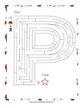 Patriotic Mazes Pack