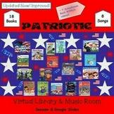 Patriotic Mini-Virtual Library & Music Room - SEESAW & Goo