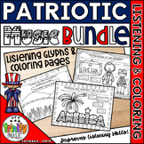 Patriotic Music Bundle (Glyphs & Coloring Books)