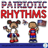 Music Class Patriotic Rhythm Activities: Notation, Body Pe