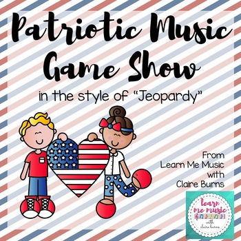 patriotic music game show powerpointlearn me music with claire, Powerpoint templates