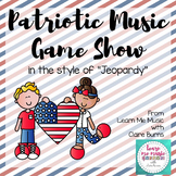 Patriotic Music Game Show PowerPoint