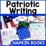 Patriotic Napkin Book Writing Prompts