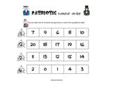 Patriotic Number Order Game