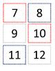 Patriotic/Olympic Red, White, Blue Calendar theme Editable
