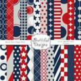 Patriotic Paper Pack