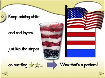 Patriotic Parfait - Animated Step-by-Step Recipe - Regular