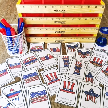 Patriotic Partner Pair Cards