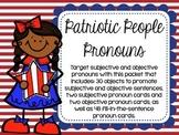 Patriotic People Pronouns
