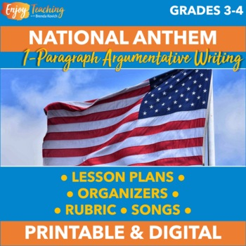 Persuasive Writing - Which Patriotic Song Is the Best National Anthem?
