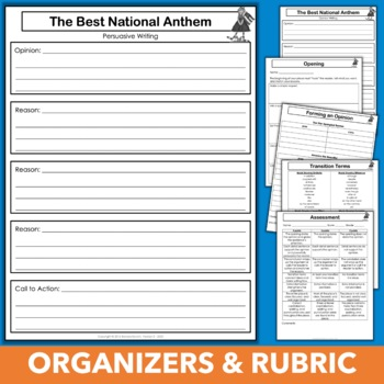 Patriotic Writing Prompt - Which Song Makes the Best National Anthem?