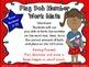 Patriotic Play-Doh Number & 10 Frame Work Mats (Focus Numb