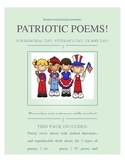 Patriotic Poems!