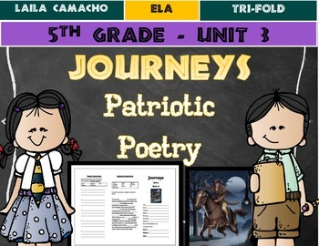 Journeys Grade 5 Trifold (Patriotic Poetry)