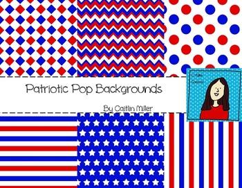Patriotic Pop Backgrounds