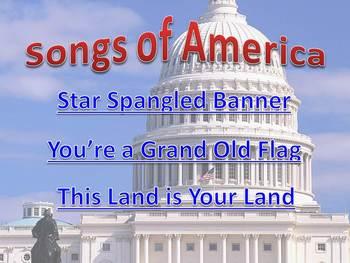 Patriotic Powerpoint Song Pack