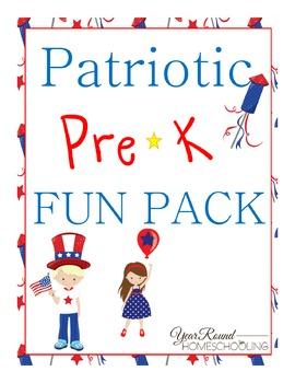 Patriotic PreK Fun Pack