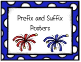 Patriotic Prefix and Suffix Posters