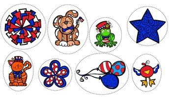 Patriotic Prepositions for Expressive and Receptive Language