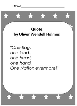 Patriotic Presentation Texts for Begninners