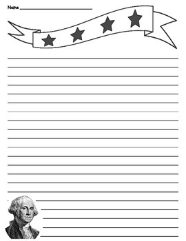 President writing paper