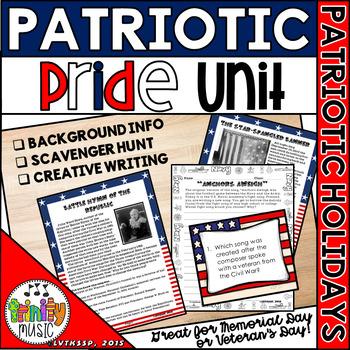 Patriotic Pride (Song Background, Lyrics, Writing, and Scavenger Hunt)