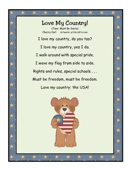 Patriotic Pride Songbook