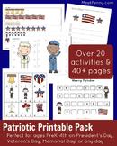 Patriotic Printable Pack