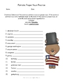 Patriotic Proper and Common Noun Practice