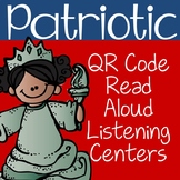 Distance Learning: Patriotic QR Code Read Aloud Listening Centers