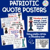 Patriotic Quotes Posters- Melonheadz clip art  *Color and
