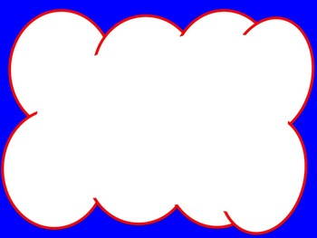 Patriotic Red, White, and Blue Borders, and Background graphics - Commercial Use