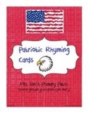 Patriotic Rhyming Cards