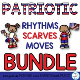 Patriotic Rhythms and Creative Movement Activities