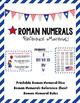 Patriotic Roman Numerals Mega Bundle