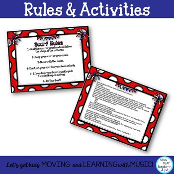 Creative Movement: Patriotic Scarf and Ribbon Activities K-6