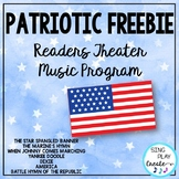 Patriotic Script or Readers Theater with Song Sheets for P