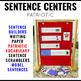 Sentence Building Activities Patriotic Symbols