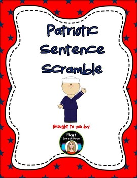 Patriotic Sentence Scramble