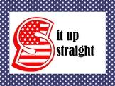 Patriotic Slant Posters