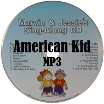 Patriotic Song - American Kid - MP3, Lyrics, & Coloring Page