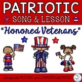 """Free Patriotic Song and Lesson """"Honored Veterans"""" Easy Orf"""