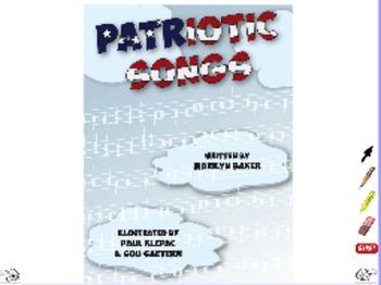 Patriotic Songs - ActivInspire Flipchart