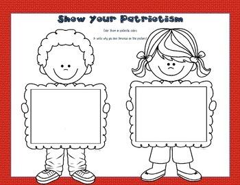Patriotic Songs, Lyrics and Literacy Unit