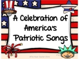 Patriotic PowerPoint Songs and Sing Along- Just in time fo