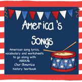 Patriotic Songs Unit, America's Songs, 2nd Grade United St